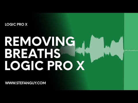 Editing Vocals in Logic Pro X - Part 2: Removing Breaths