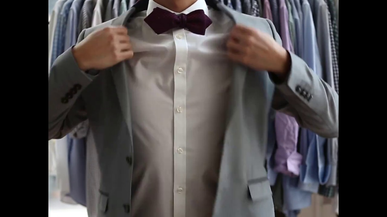 How To Tutorial: Easy Way To Tie A Bow Tie