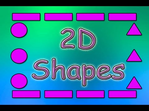 Shapes for Kids | 2D Shapes | Shapes Song  | Educational Songs | Children's Songs | Jack Hartmann