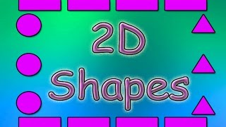 Shapes for Kids | 2D Shapes | Shapes Song  | Educational Songs | Children