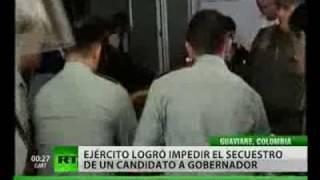 Un secuestro fallido en Colombia deja un saldo de seis muertos