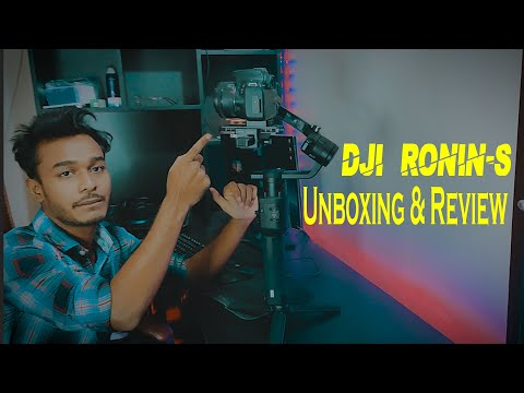 BEST DSLR GIMBAL-DJI RONIN S | Unboxing & Review