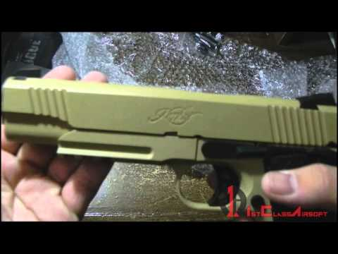 ARMY [R28] 1911 Kimber Desert Warrior Airsoft Pistol