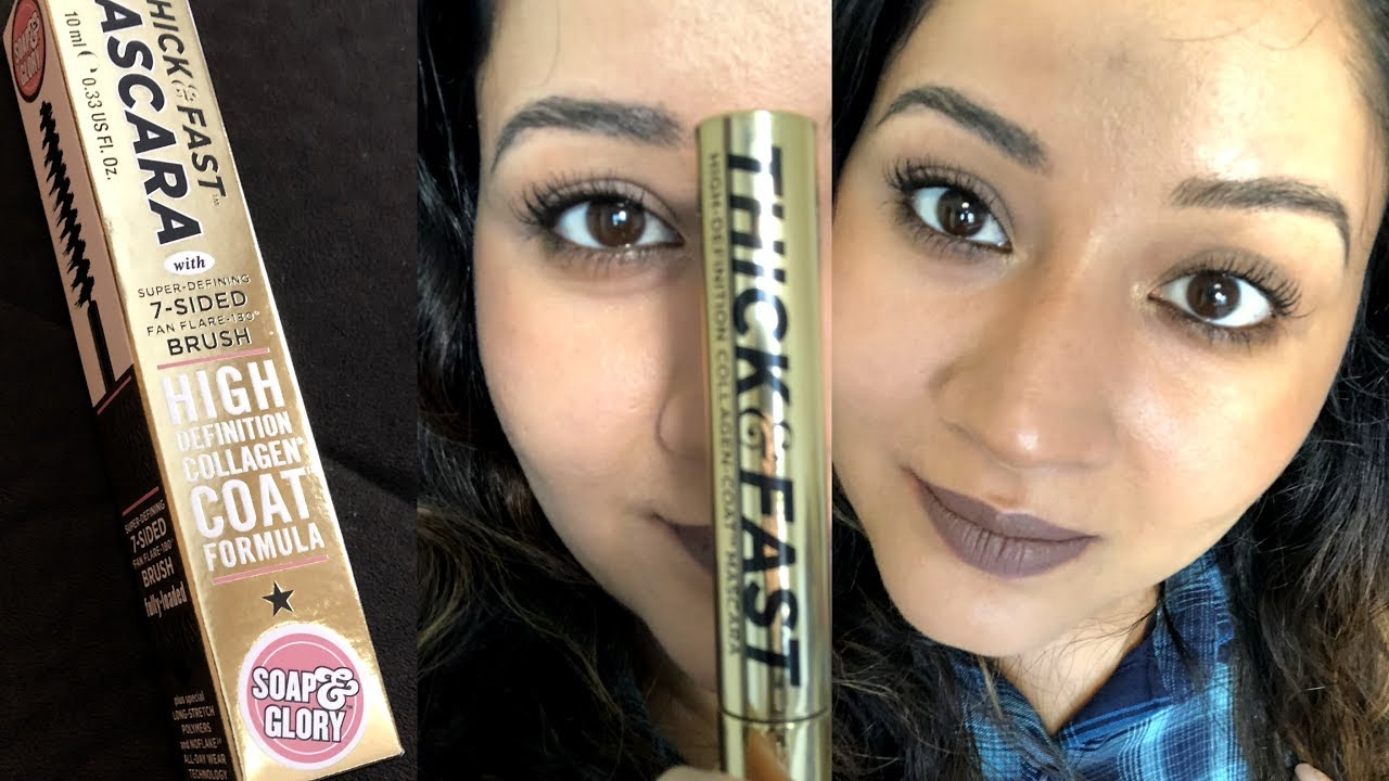 3134ef94b19 Soap & Glory Thick & Fast HD Mascara REVIEW - YouTube