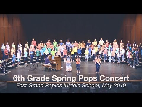 2019 6th Grade Spring Pops Concert l East Grand Rapids Middle School
