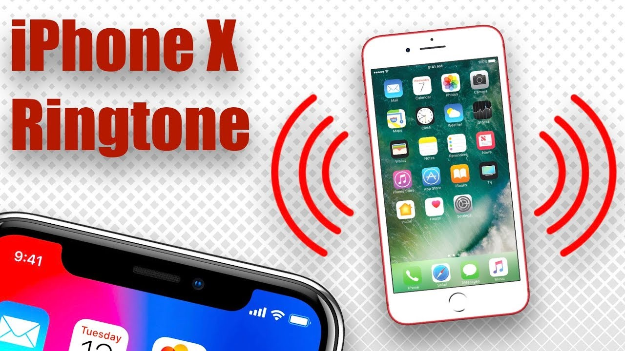 how to put ringtones on iphone x