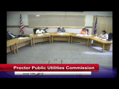 Proctor Public Utilities Commission 2017 06 12