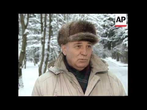 RUSSIA: MIKHAIL GORBACHEV'S RESPONSE TO BORIS YELTSIN'S ILLNESS
