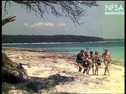Bowen Island Is Fisherman's Paradise. Australian Colour Diary 1