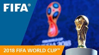 2018 FIFA World Cup Russia Final Draw - LIVE info graphic presentation
