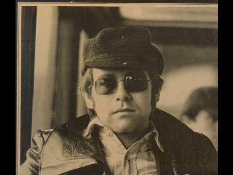 Elton John  Talking Old Soldiers 1970 With Lyrics!