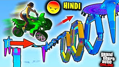 World's Most Impossible Parkour *RAGE QUIT* GTA RACE | GTA 5 Hindi Funny Moments