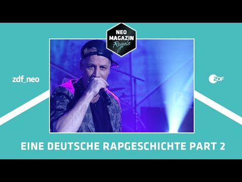 Eine deutsche Rapgeschichte Part II | NEO MAGAZIN ROYALE mit Jan Böhmermann - ZDFneo