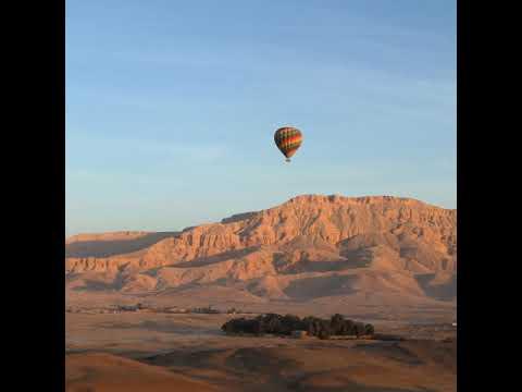 Egypt Hot Air Balloon over Luxor