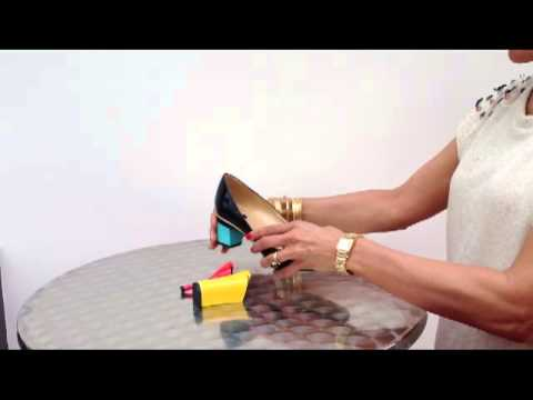How to change a heel with TANYA HEATH Paris, english voice over