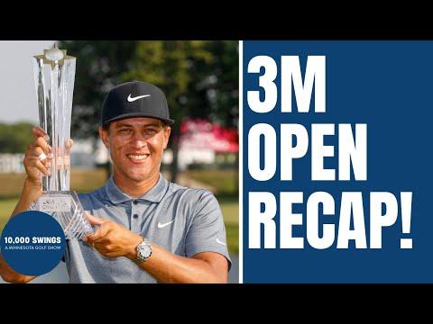 Cameron Champ wins 3M Open! (10,000 Swings)
