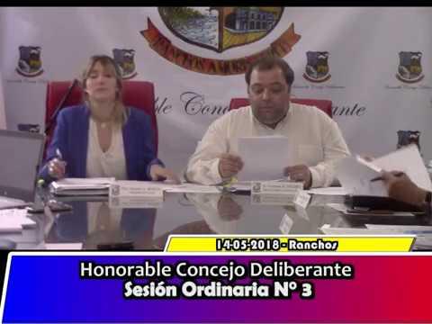Sesion Ordinaria 3/2018 - HCD General Paz