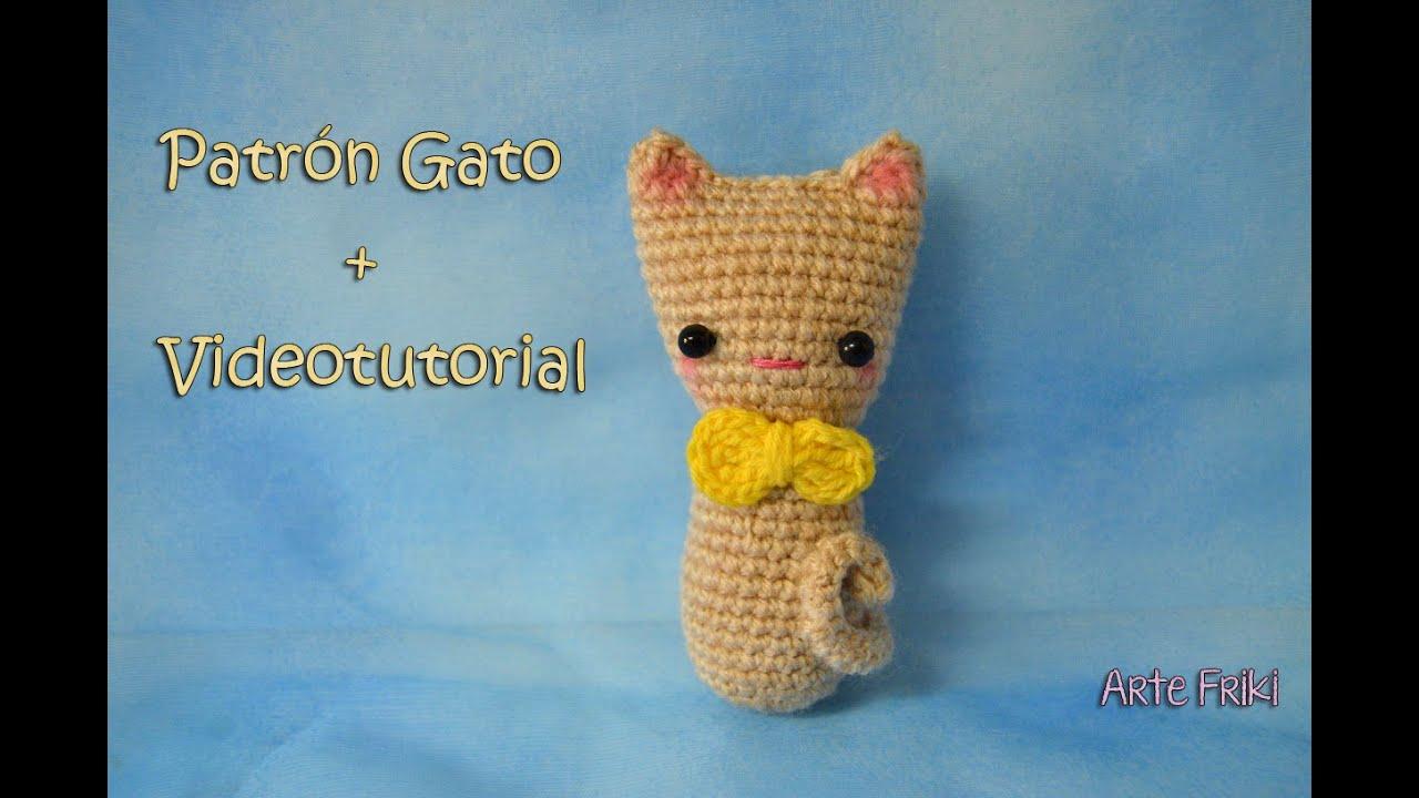 Amigurumi Gato Paso A Paso : Gato amigurumi [tutorial] youtube