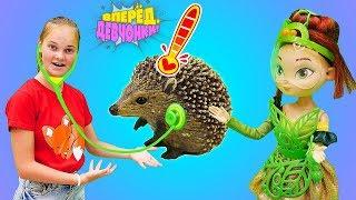 Сказочный патруль помогает животным. Игрушки Collecta: обитатели леса. Игры в куклы для девочек.