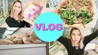 Vegan Beauty unboxing, Tipps gegen Winterblues und PIZZA! | Follow my Weekend