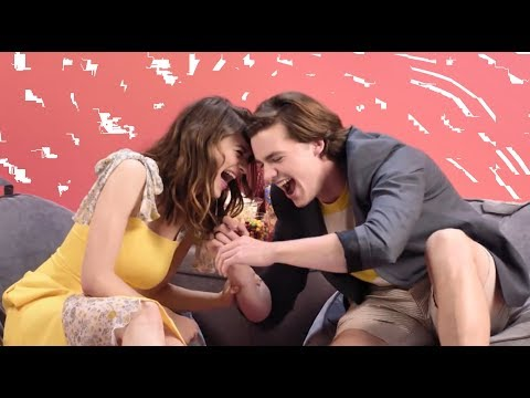 Joey King Joking Around With Joel Courtney & Jacob Elordi | Kissing Booth Cast