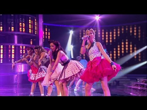 Little Mix love a bit of Bieber - The X Factor 2011 Live Show 8 - itv.com/xfactor