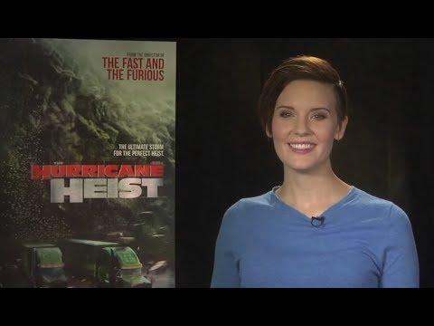 Hurricane Heist with Actress Maggie Grace