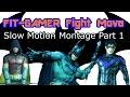 Batman Arkham Fighting Style | Counter Attacks Slow Motion!!!