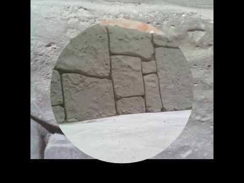 Дикий камень своими руками видео