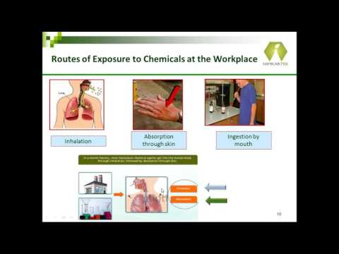 Webinar - Chemical Safety at the Work place