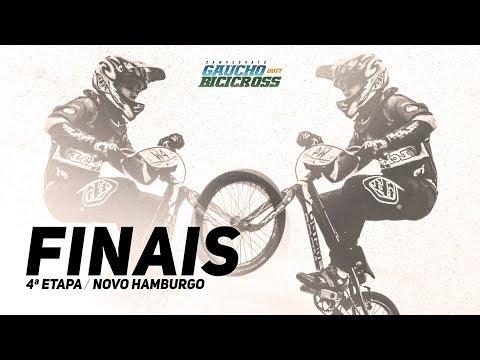 FINAIS da 4ª Etapa do Campeonato Gaúcho de BMX - Novo Hamburgo
