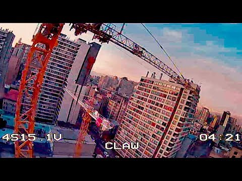 FPV FreeStyle Crane Diving (Feels like Johnny FPV Without HD