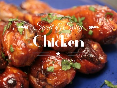 Sweet & Spicy Chicken Drumsticks