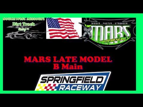 $2500 TO WIN MARS LATE MODEL B Main Race Springfield Raceway September 16 2017