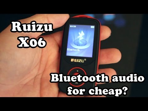 [Review] Ruizu X06 : A Bluetooth mp3 player for under 20$?!