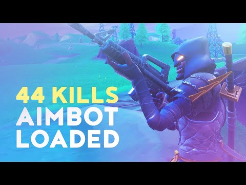 44 KILLS - AIMBOT LOADED! (Fortnite Battle Royale - Dakotaz)