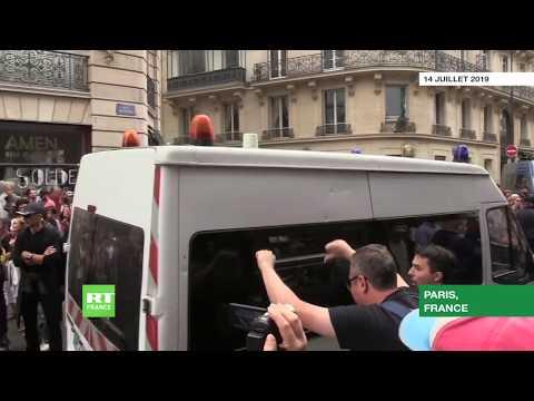 14 Juillet à Paris : scènes de violence en marge du défilé