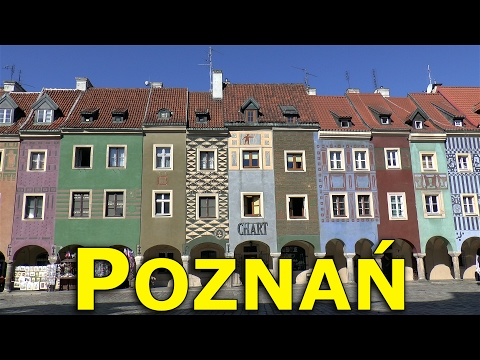 POZNAŃ TRAVEL GUIDE: TWO DAYS IN POZNAŃ.  New video with recommendations for top places to visit.