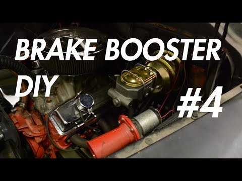 Chevy Apache P4 – Upgraded Brake Booster Install DIY! (1959 Chevy Apache)