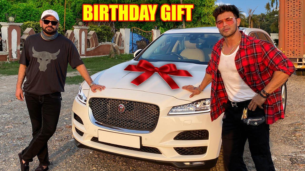 Surprise Birthday Gift To Mastermind Sam Khan