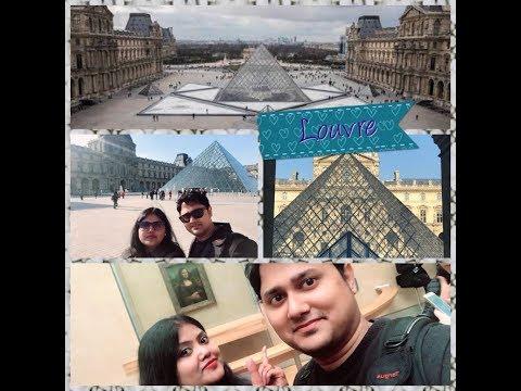 Louvre Museum || Honeymoon Trip to Paris || Visit Louvre Palace