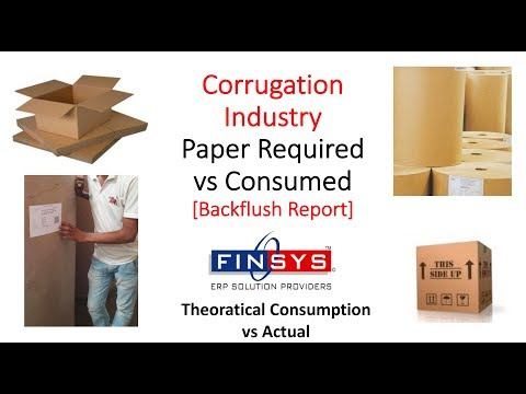 ERP Software for Corrugation Packaging | Finsys Infotech ERP