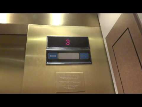 Dover Traflomatic Impulse Traction Exhibition Elevators at Bob Bullock Museum in Austin, TX.