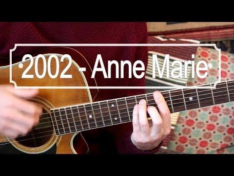 2002 - Anne Marie (Ed Sheeran) Guitar Lesson