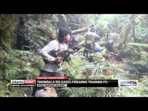 Footage Of Santoso Terrorist Group Firearms Training Session