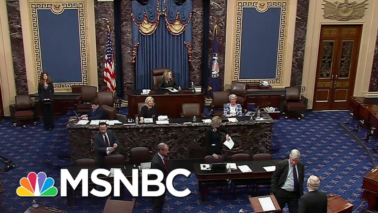 Senate Votes To Pass Coronavirus Relief Bill | MSNBC - YouTube