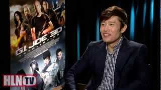 GI JOE RETALIATION interviews: Byung-Hun Lee