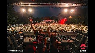 """Dirty Rush & Gregor Es live @ """"Sunrise Festival"""" 2017 (Parking Stage) Kolobrzeg, Poland (21.07.2017)"""