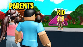 We Adopted A DAUGHTER.. But She Actually Had An EVIL PLAN.. (Roblox Bloxburg)