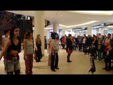 Мировой флэшмоб М Джексона в Москве 26 окт 2013г